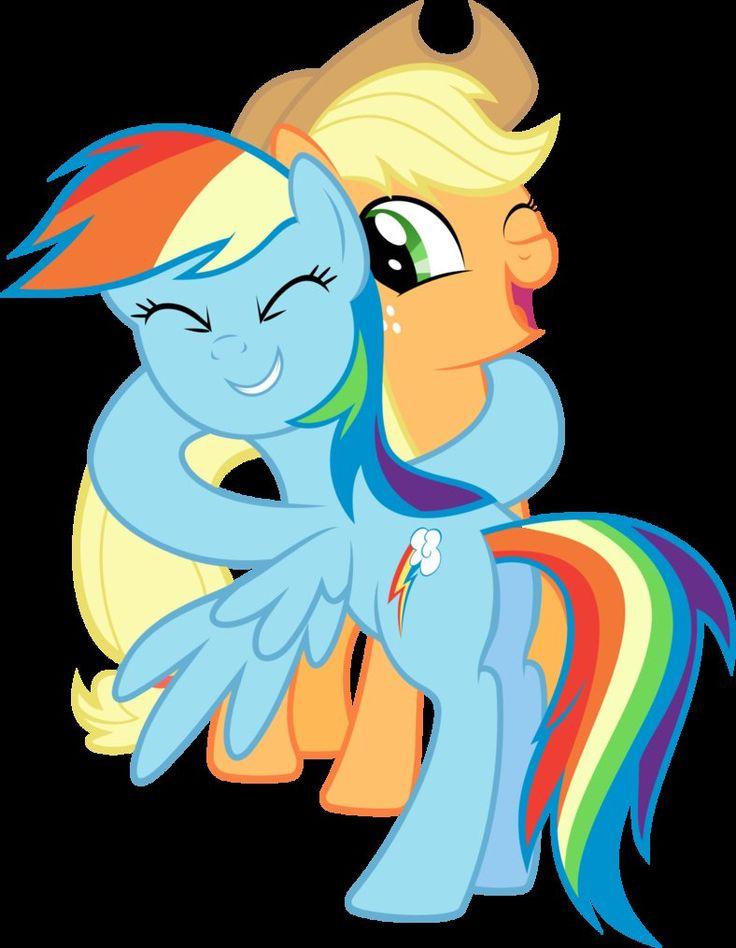 17 best Rainbow dash and Apple jack images on Pinterest ...  Applejack