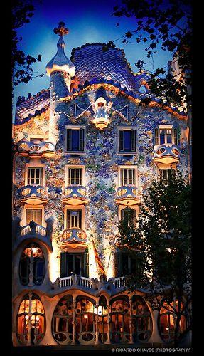 Casa Batllo, Barcelona.