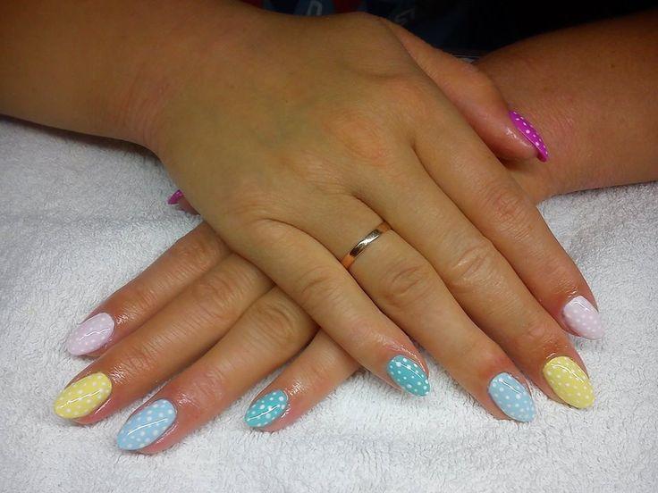 #CuteNails #sweetNails #Nails #PolishNails #KlaudiaNails&Beauty #Colorful