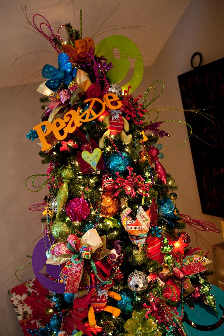 188 best christmas trees by show me decorating images on for Non christmas tree