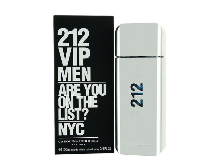 212 VIP by Carolina Herrera Eau De Toilette Spray for Men, 3.4 Ounce  This 212 VIP Men by Carolina Herrera is perfect for winter night life. Its unique scent places it in the list of top 10 best fragrances for men. Young and active men would find this fragrance exquisite because of its seductive and long lasting scent. It is highly recommended and has very good reviews on Amazon.  #fragrance #men #2015 #best #scent