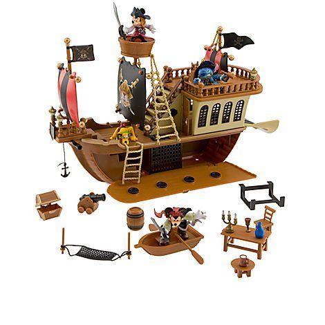 ミッキーマウス カリブの海賊 海賊船