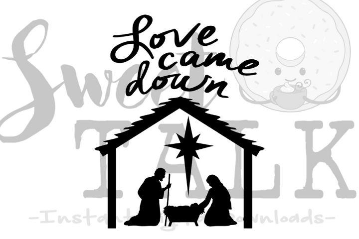 Download Love came down-svg digital download | Digital, Christmas ...