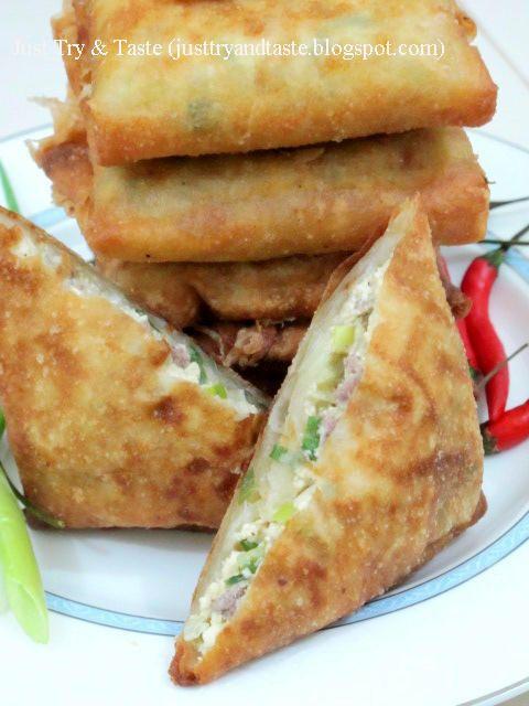Martabak Tahu - Daging Cincang | Just Try & Taste