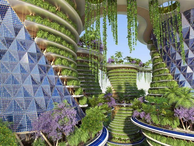 Futuristic Paris 1900-2900 – Two visions, same result: a green city