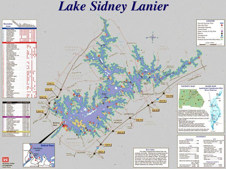 Map of lake nottely as art simple lake house style for Lake nottely fishing