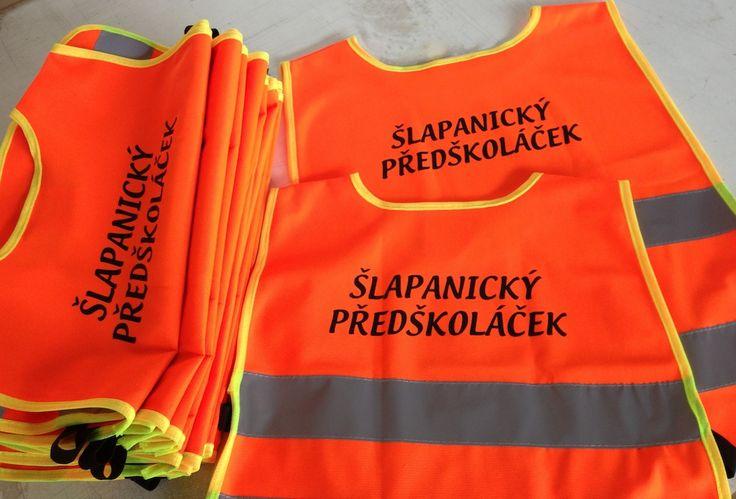 Potisk reflexních vest flocker.cz Brno.