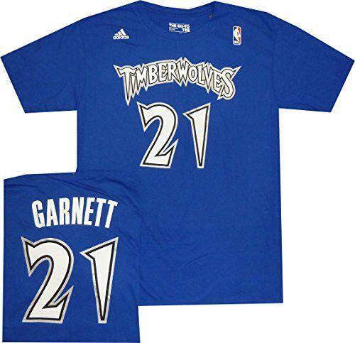 Men's Kevin Garnett Minnesota Timberwolves adidas Royal Blue Throwback Player T-Shirt
