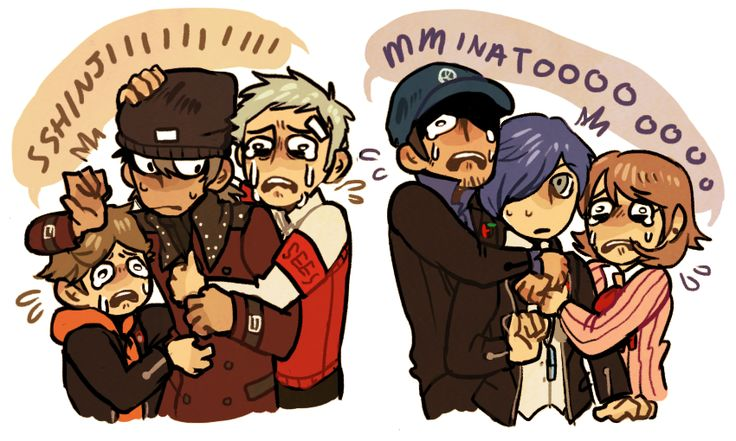 i have alot of feeling about persona q and dead characters appearing AS CUTE TINY CHILDREN with their not dead buddies