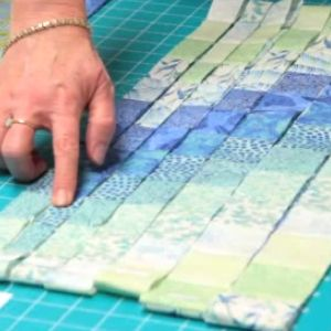 Bargello quilt is ideal for beginner quilters. This is easy to sew because the seams are straight. Usually, bargello quilt has many shades of similar colors that range from dark to light and are st...