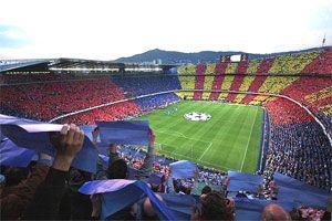Camp Nou home to FC Barcelona