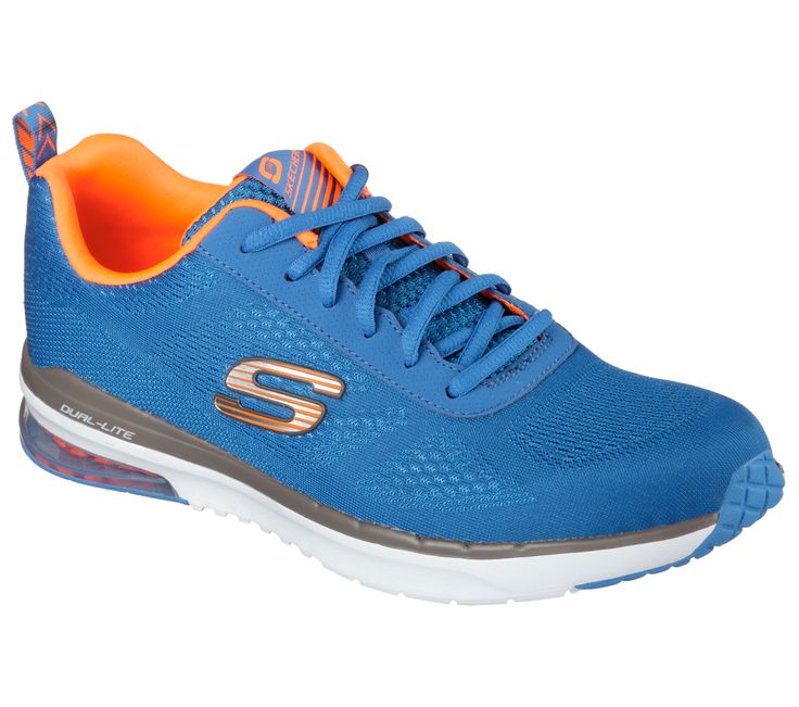 Improve your workout easily with the SKECHERS Skech-Air Infinity shoe.  Skech Knit Mesh
