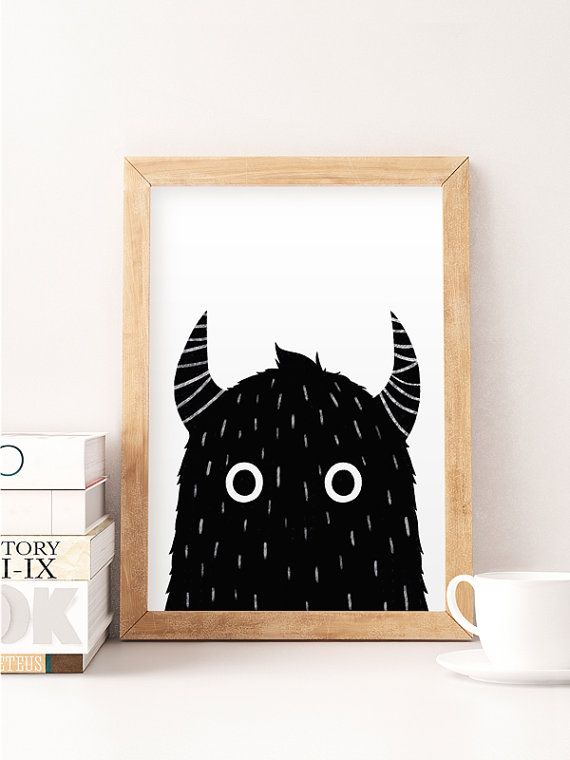 Hey, I found this really awesome Etsy listing at https://www.etsy.com/il-en/listing/249707893/cute-monster-monster-silhouette-monster