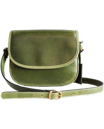 Green Logo Cross Body Bag 130.00€