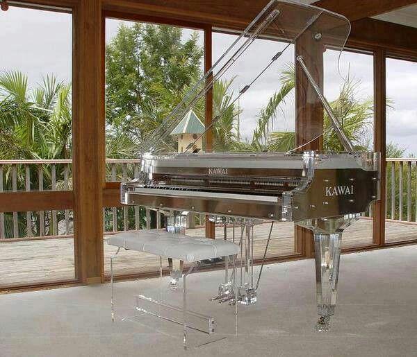 Clear piano by Kawaii