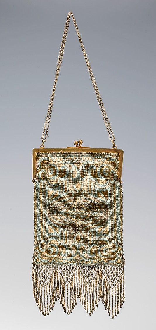1900-1910 Evening bag, French