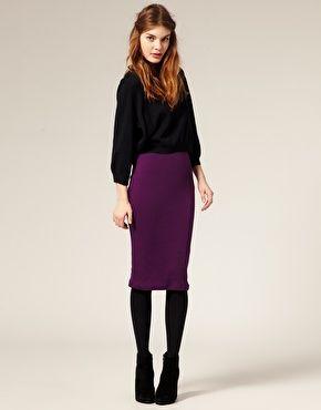 25  best ideas about Purple pencil skirts on Pinterest | Purple ...