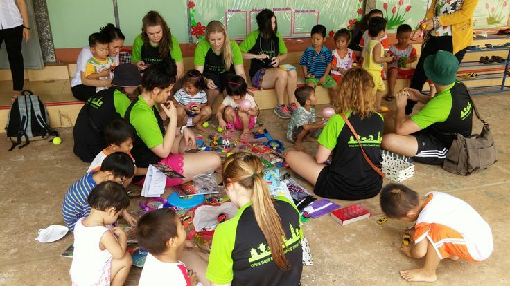 """""""The best way to find yourself is to lose yourself in the service of others."""" #VietnamSchoolTours #ServiceWork #CommunityService"""
