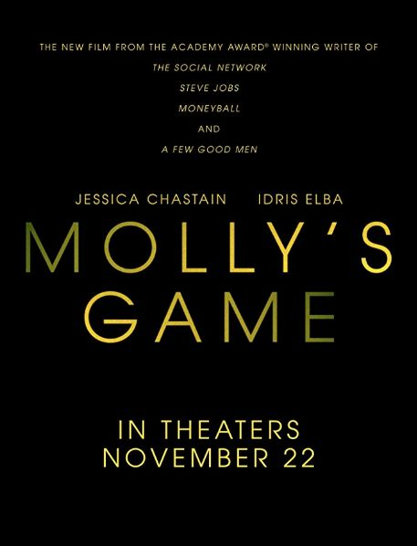 Molly's Game (2017) Full Movie Streaming Online in HD 720p Video Quality