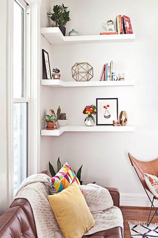 Shelves designlovefest mi sala pinterest hogar decoraciones del hogar y decoraci n - Pinterest decoracion hogar ...