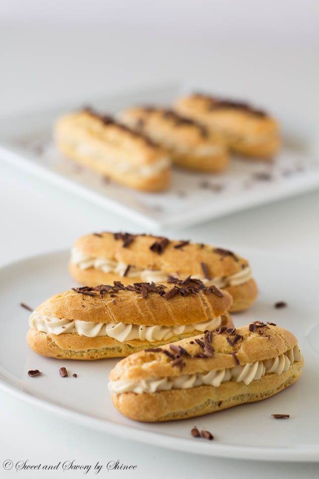 Tiramisu Eclairs- two delicious flavors in one, irresistibly light and ...