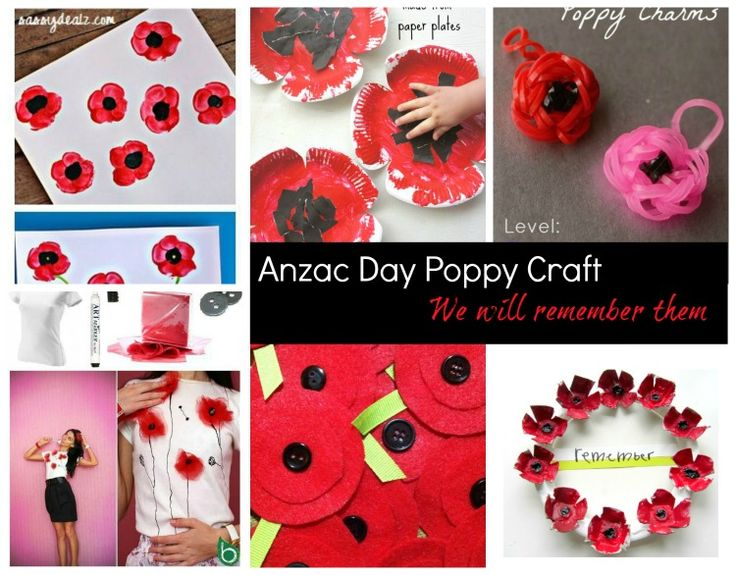 Anzac Day Poppy Craft is a great way to get the kids involved creating something fun with meaning. The poppies have a significant meaning to Australians surrounding Anzac Day. The flowers were in bloom when the Aussie troops landed at Gallipoli. These craft ideas are a wonderful way to create something beautiful while remembering the