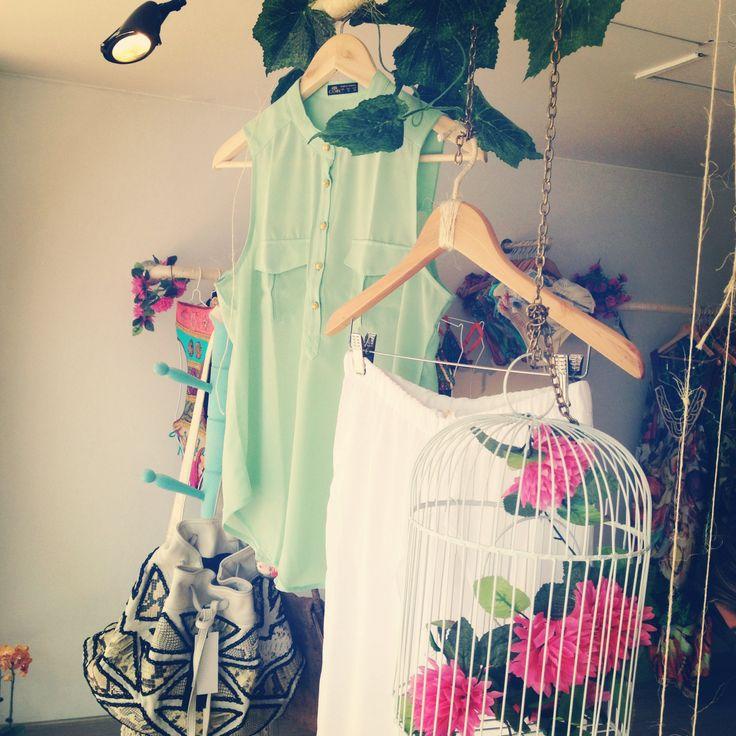 Blusa verde COIR