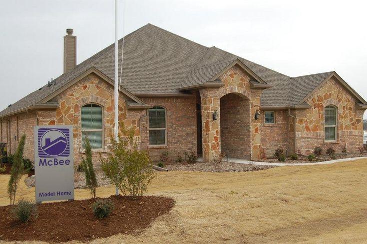 Brick Stone Elevation : Best mcbee homes exterior desgins images on pinterest
