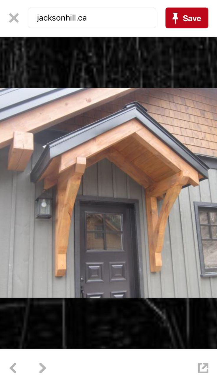 129 best images about house pictures on pinterest for Front door roof designs