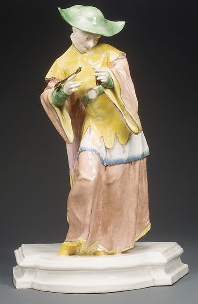 Chinese man by the Nymphenburg Porcelain Manufactory, ca. 1770