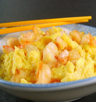 Shrimp Omelet from the Pearl River Delta