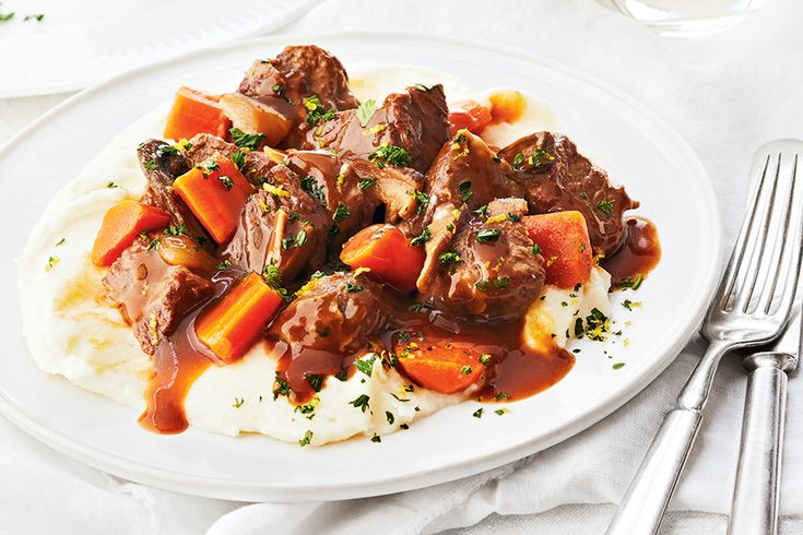 Hearty Beef Stew—Cocoa powder might seem like an unusual ingredient to add to a savoury stew, but it adds an extra hit of toasty richness and colour, but without any of the sweetness you might associate with dessert. It'll be your new favourite secret ingredient!