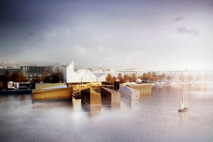 WXCA's Floating Pavilions Win the Baltic Sea Park Competition in Estonia | Inhabitat - Green Design, Innovation, Architecture, Green Building