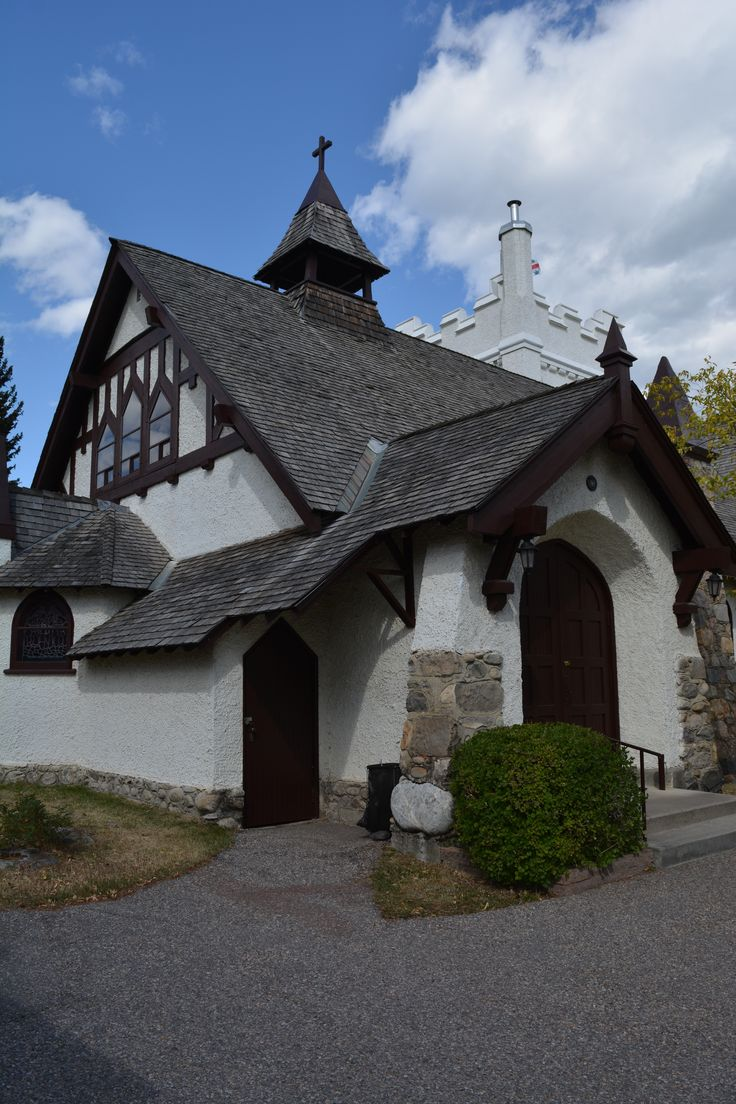 St Mary & St George Anglican Church 1928 Jasper, Alberta