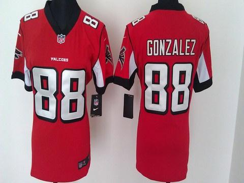 e3d58dc6818 ... get womens nfl atlanta falcons tony gonzalez game team color jersey  19.55 white tony gonzalez nike