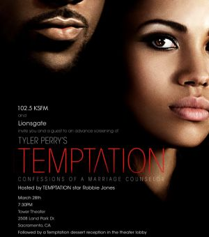"Tyler Perry's"" ""Temptation: Confessions Of A Marriage Counselor"""
