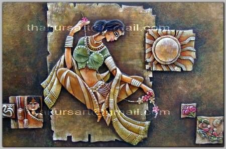 The 168 best images about clay murals on pinterest for 3d mural art in india