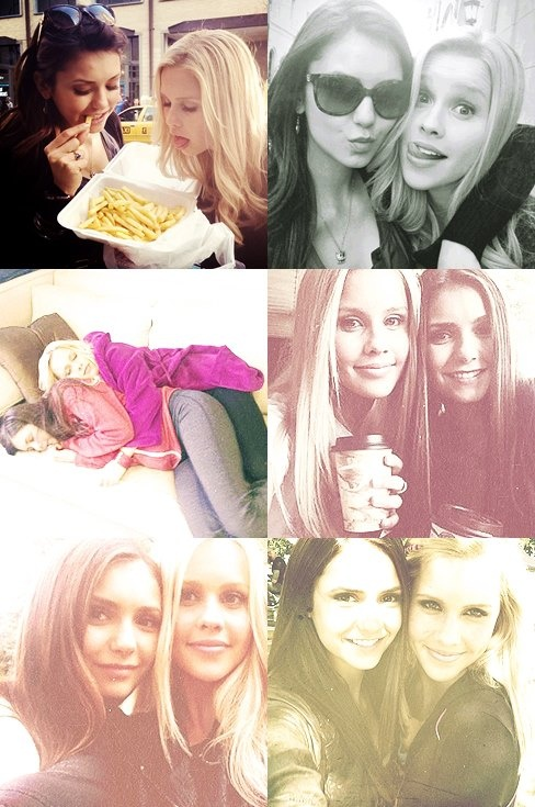 Nina Dobrev & Claire Holt can they be my best friends?!