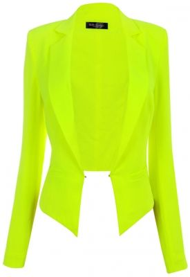 Lots of cool dresses http://www.celebboutique.com/brianna-lime-green-cropped-tailored-blazer-en.html