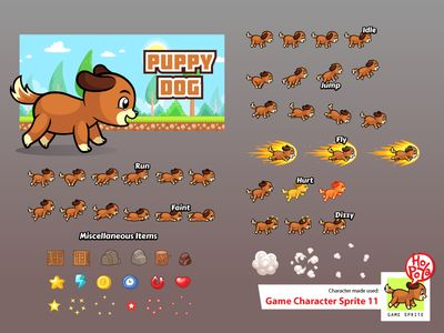 Game Character Sprite 11