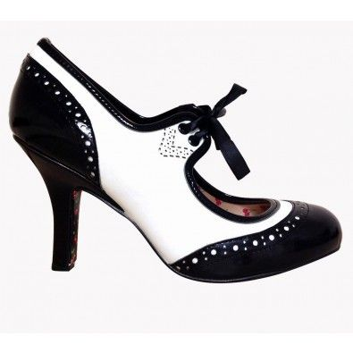 Chaussures Escarpins Pin-Up Rockabilly 50's Dancing In The Street