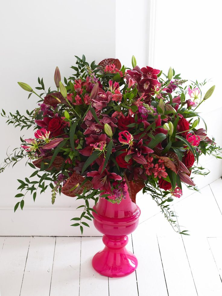 wedding centerpieces fake flowers%0A Make a HighImpact AllAround Arrangement  Cut FlowersSilk FlowersFloral  CenterpiecesFloral