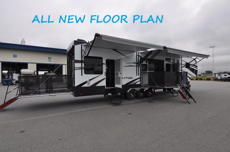 ALL NEW 2016 VOLTAGE V4150 SIDE PATIO Toy Hauler By