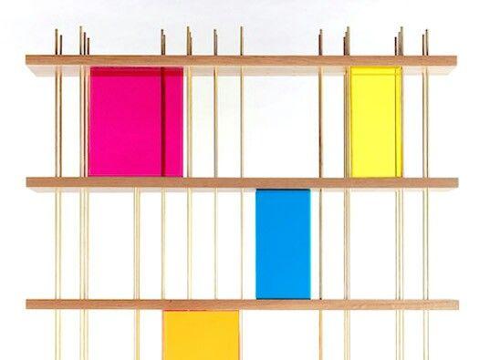 Cok Cok Bookshelf By Serhan Gurkan