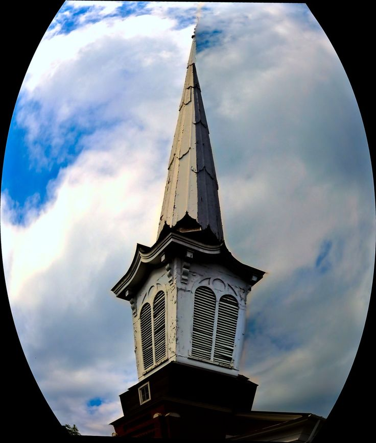 A steeple in Warrenton.  - by Tony Karp – http://timuseum.com