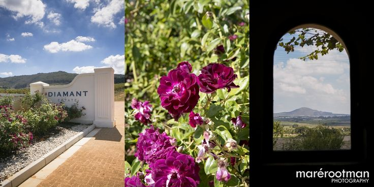 The perfect backdrop to a beautiful wedding - JD & Elsje's Wedding @ Diamant Estate - Paarl - Winelands - Mare Rootman Photography