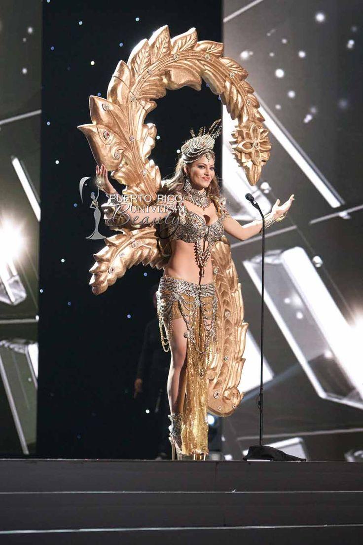 MISS UNIVERSE 2015 :: NATIONAL COSTUME | Urvashi Rautela, Miss Universe India, debuts her National Costume on stage at Planet Hollywood Resort & Casino Wednesday, December 16, 2015. #MissUniverse2015 #MissUniverso2015 #MissIndia #UrvashiRautela #NationalCostume #TrajeTipico #LasVegas #Nevada