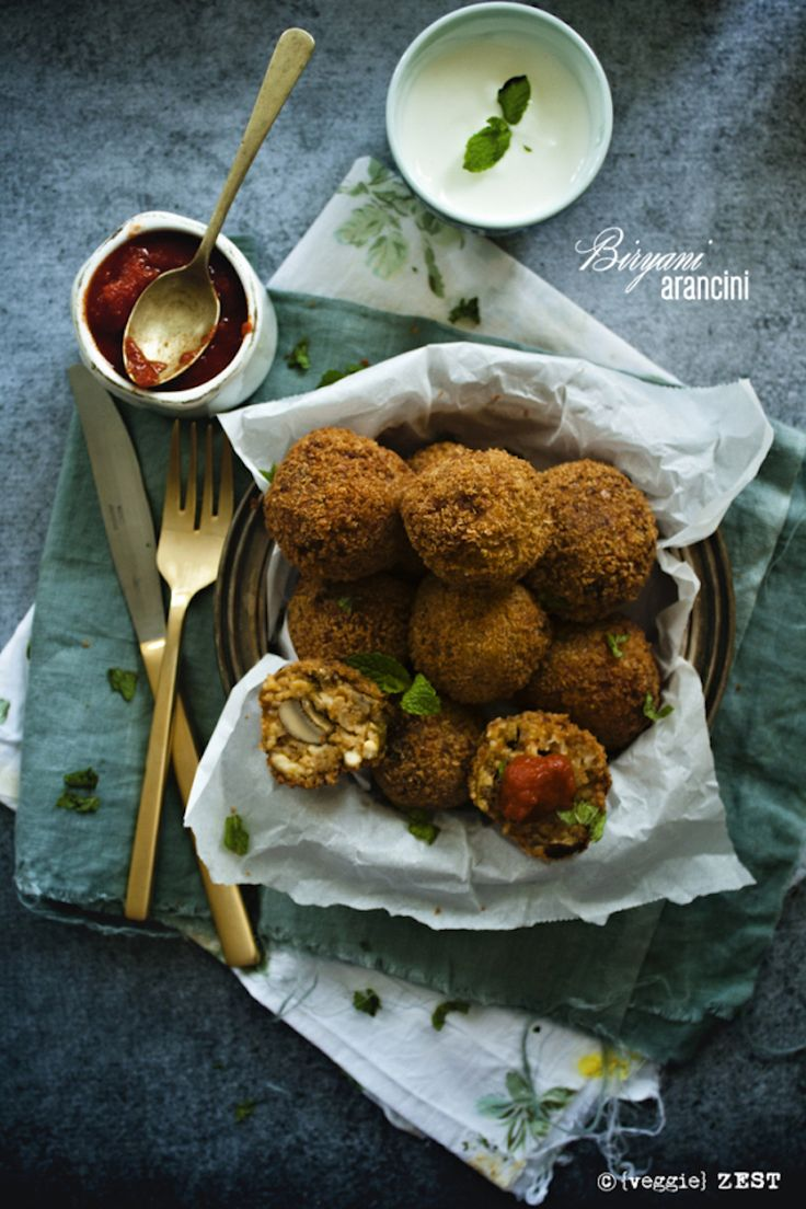 Food Photography :: Biryani arancini is a fantastic fusion recipe that is perfect for any kind of of leftover Indian rice preparation. The post Indian Style Arancini appeared first on Honest Cooking.