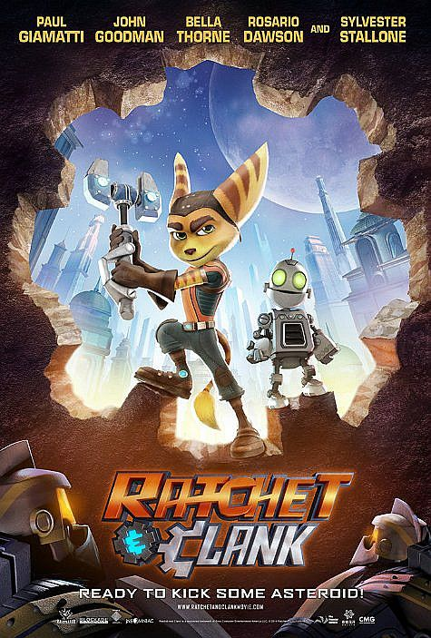 RACHET AND CLANK MOVIE