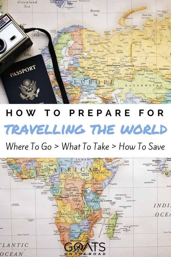 Preparing For A World Trip The Traveller S Check List Travel